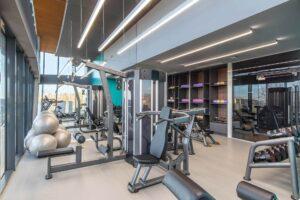 Sala de fitness - Kristal Hotel